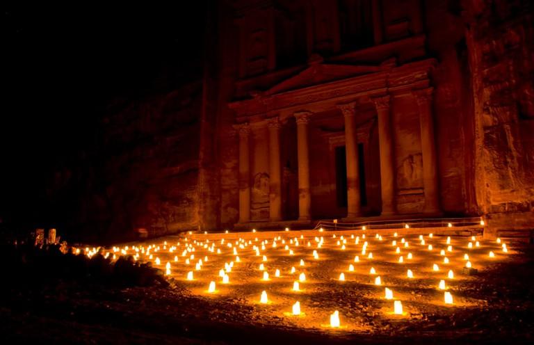 Petra by Night