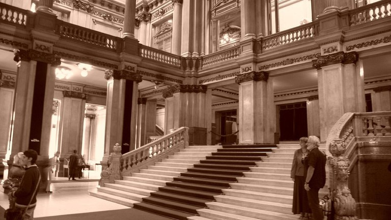 The incredible Teatro Colon