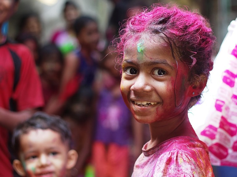 Holi is a time when everyone, no matter their background, comes together