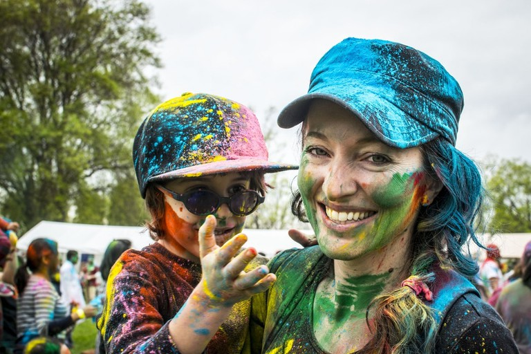 Holi is a fun, family-friendly event