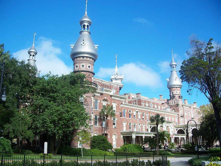 Henry Plant's Old Tampa Bay Hotel in Tampa