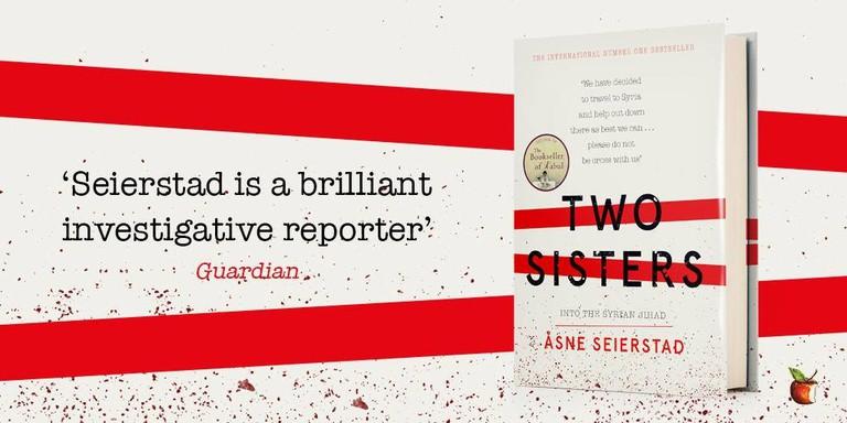 Poster of Asne Seierstad's latest novel, Courtesy of Virago Press