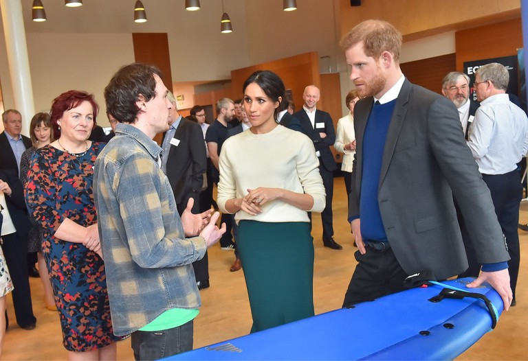 Prince Harry And Ms. Markle Visit Catalyst Inc.