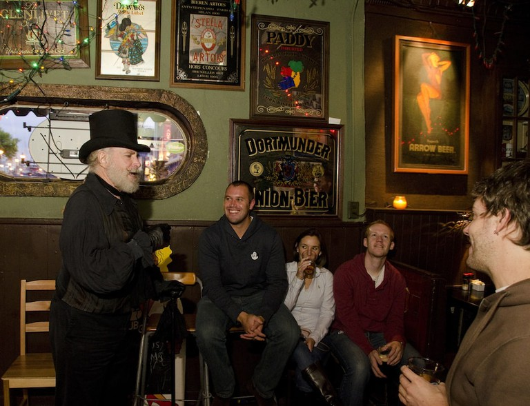 Haunted Pub Tour, Fell's Point, Baltimore, Maryland