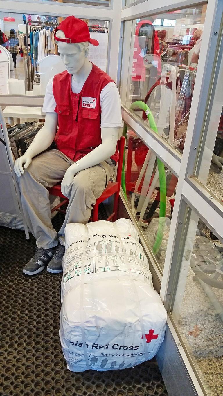 Finnish Red Cross flea market