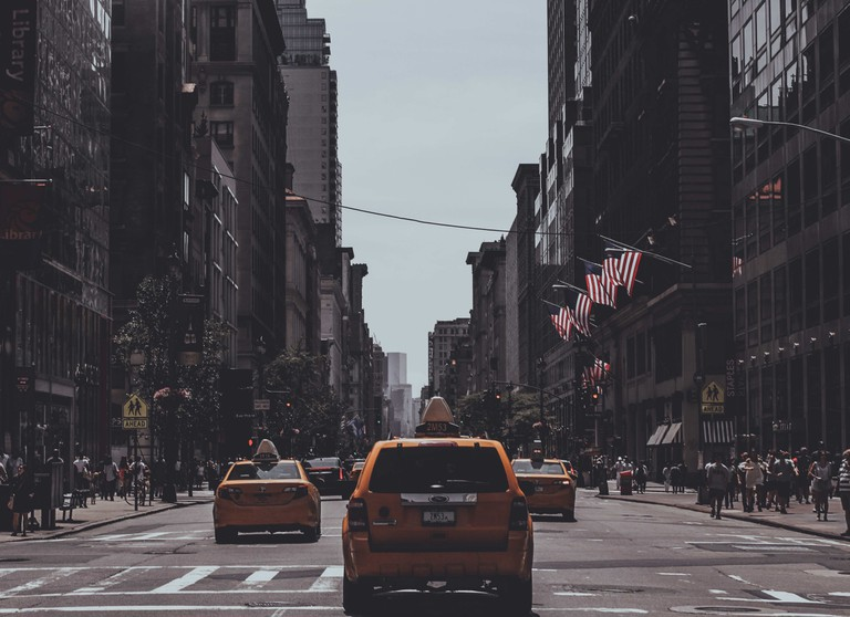 'Theirs was a New York love, a checkered taxi ride burning rubber'