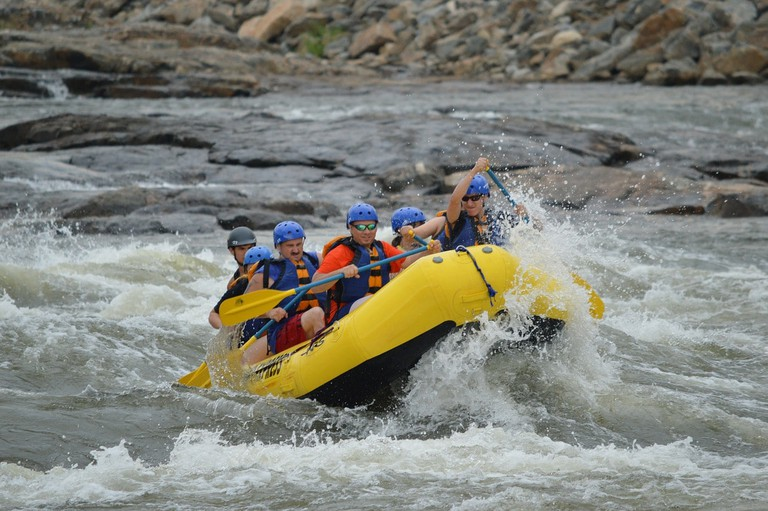 Lunahuana has some of the best rafting in Peru