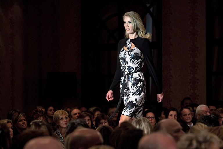 Sheila De Vries catwalk show