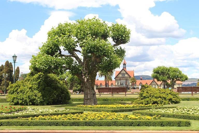 Government Gardens and Rotorua Museum
