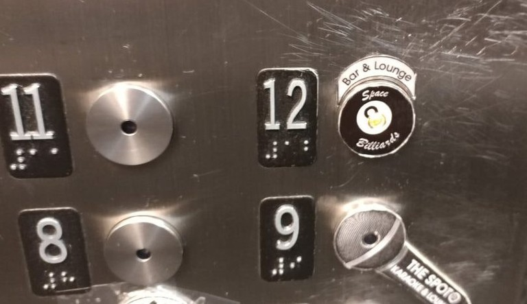 Elevator up to Space Billiards