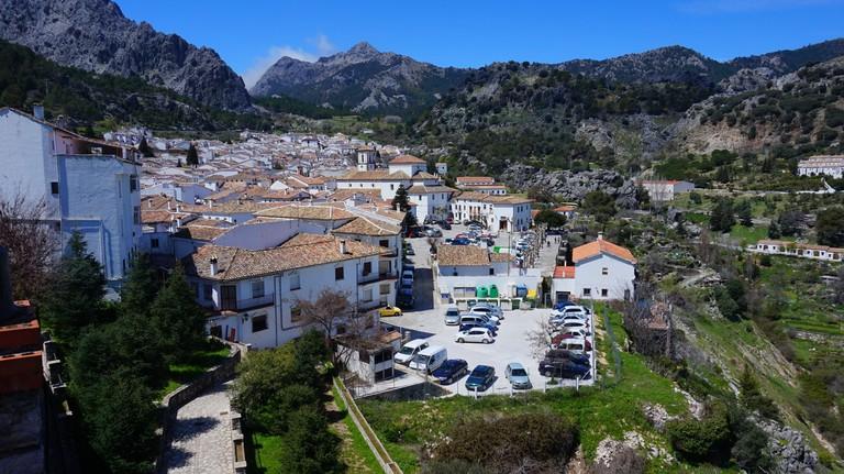 The beautiful village of Grazalema