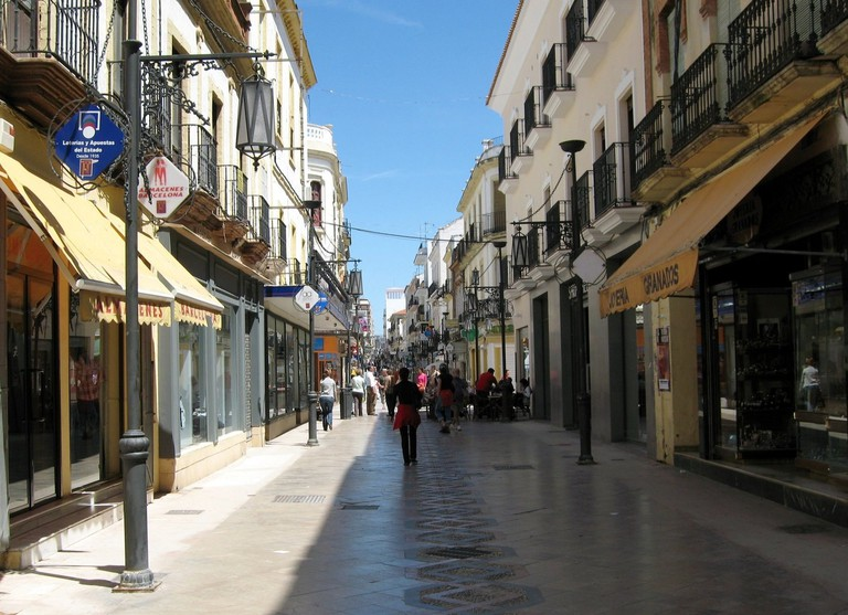 Calle Espinel, AKA La Bola, is Ronda's main shopping street