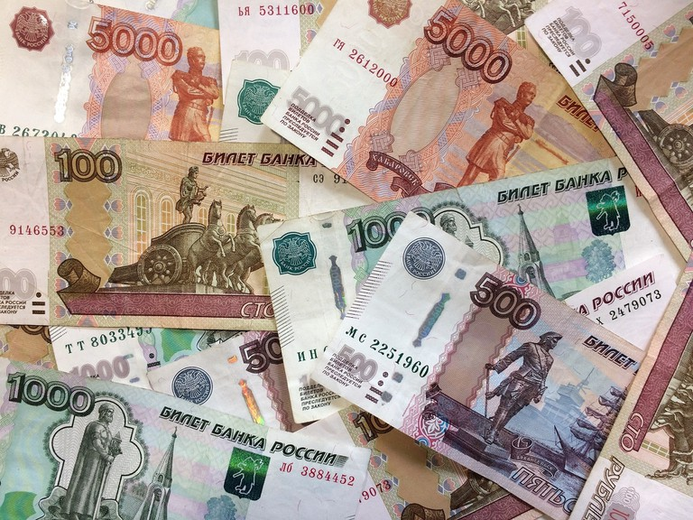 Use the XE Currency app to understand Russian prices in shops