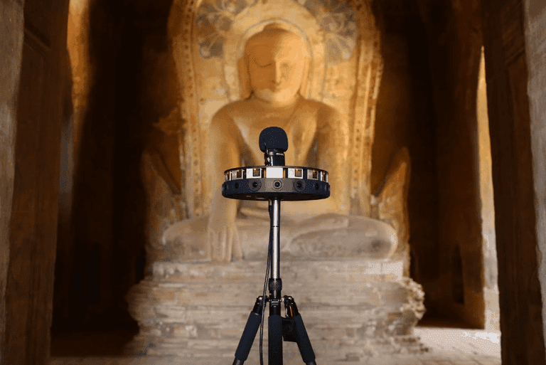 CyArk documents Bagan with 360 imagery
