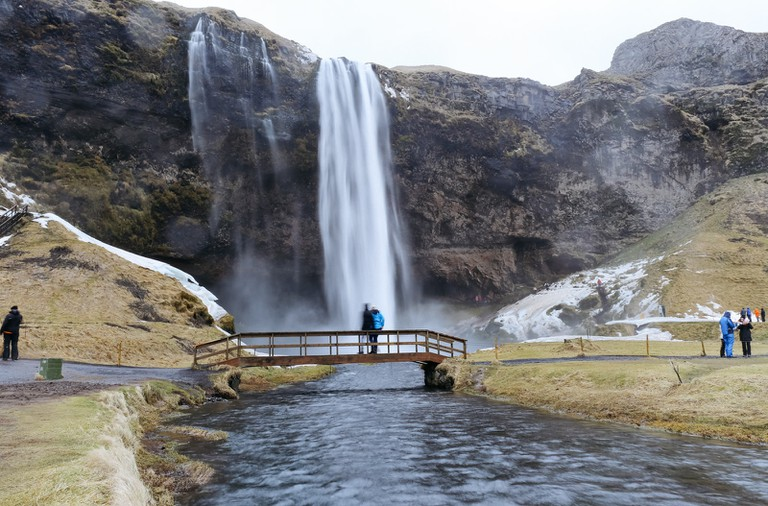 Seljalandsfoss Waterfall-Iceland Golden Circle Tour-Iceland