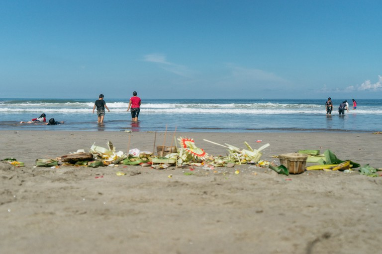 The day after Nyepi, the island comes back to life.