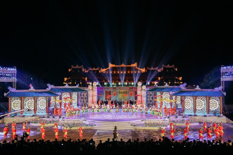 Hue Festival Opening Ceremony at Noon Gate Square