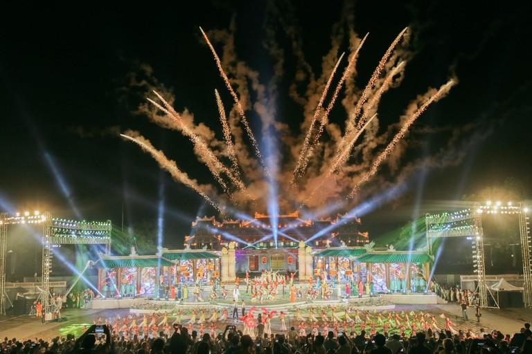 OPENING ENDING CEREMONIES-HUE FESTIVAL-HUE-VIETNAM