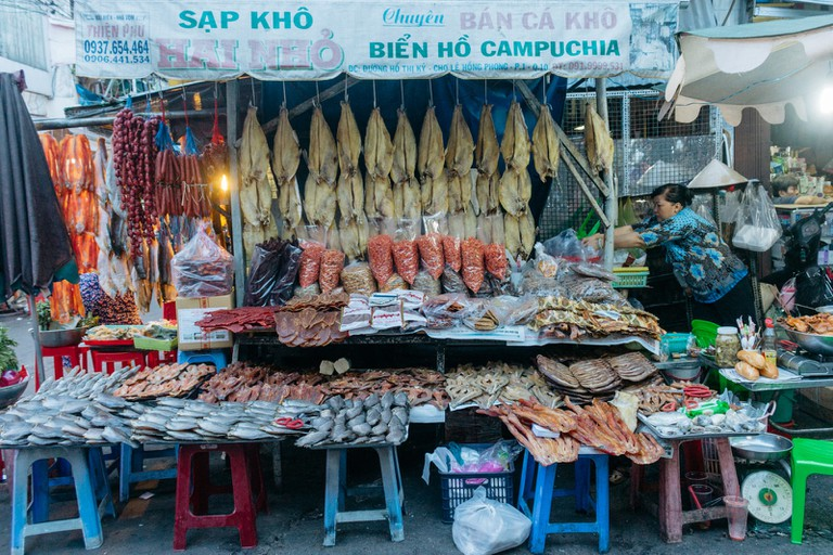 FOOD AT HOTHIKY-DISTRICT 10-SAIGON-VIETNAM
