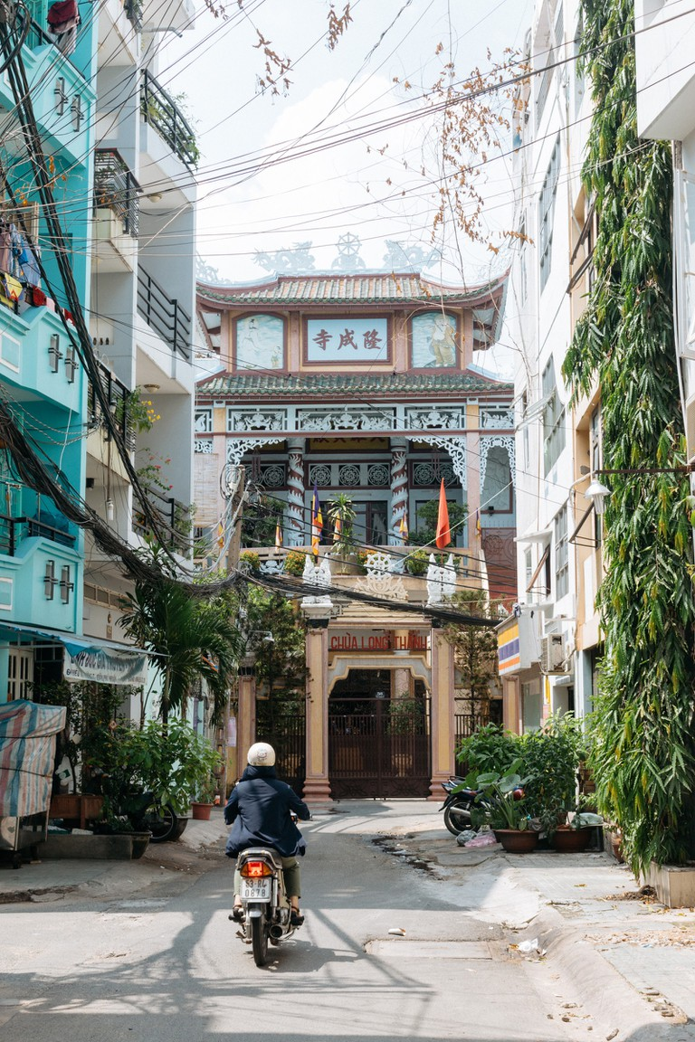 LONGTHANH PAGODA-PHUNHUAN DISTRICT-SAIGON-VIETNAM