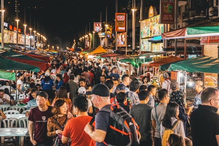 The Alor Street Food Night Market, Kuala Lumpur, Malaysia