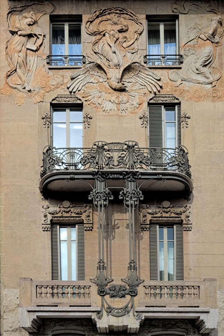 Stile Liberty Maffei House, Turin, Italy | © Clara Bonitti/Shutterstock