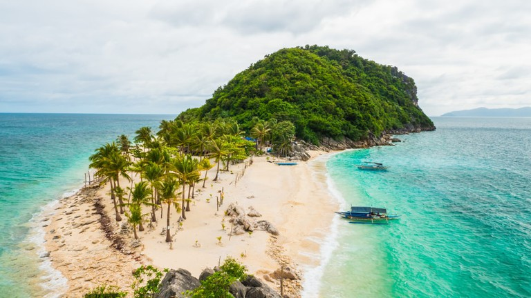 Islas de Gigantes in the Philippines