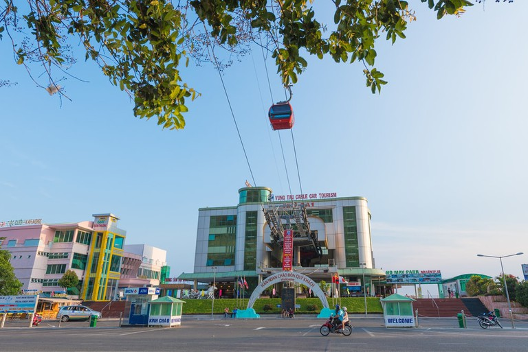 The Vung Tau cable care, Vietnam