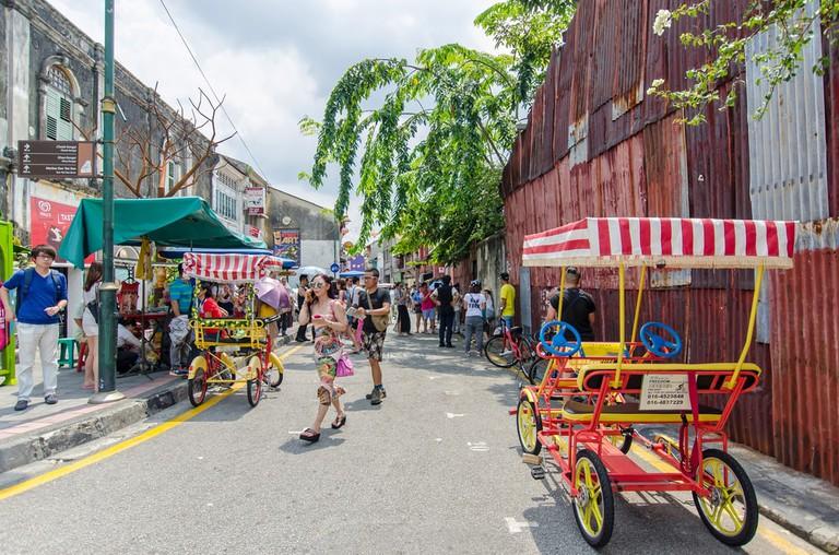 Georgetown, Penang, Malaysia | © gracethang2/Shutterstock
