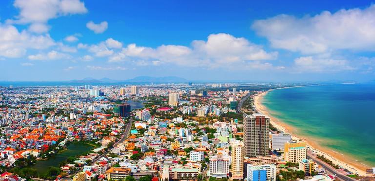 The East Sea meets Vung Tau, Vietnam