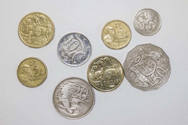 Australian coins © Dale Turner / Shutterstock