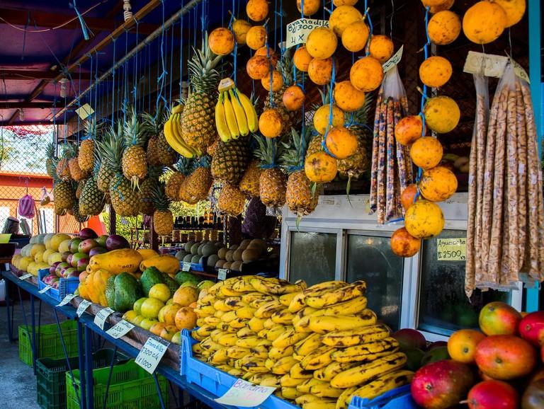 Tropical fruits, Costa Rica | © Jorge A. Russell/Shutterstock