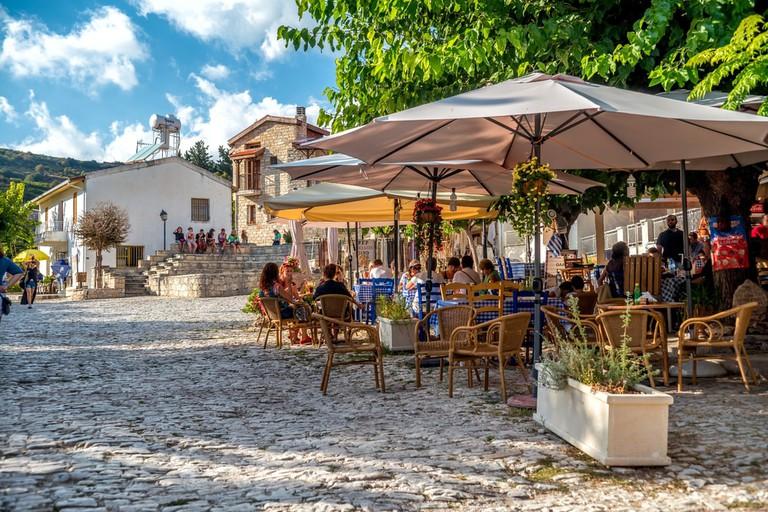 Omodos village, Cyprus