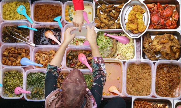 cheap Malaysian food
