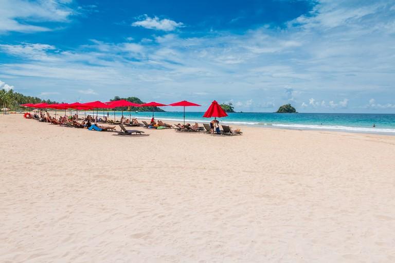 Nacpan beach, El Nido, Palawan, Philippines