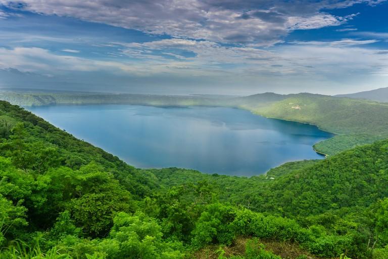 Laguna de Apoyo in Masaya, Nicaragua