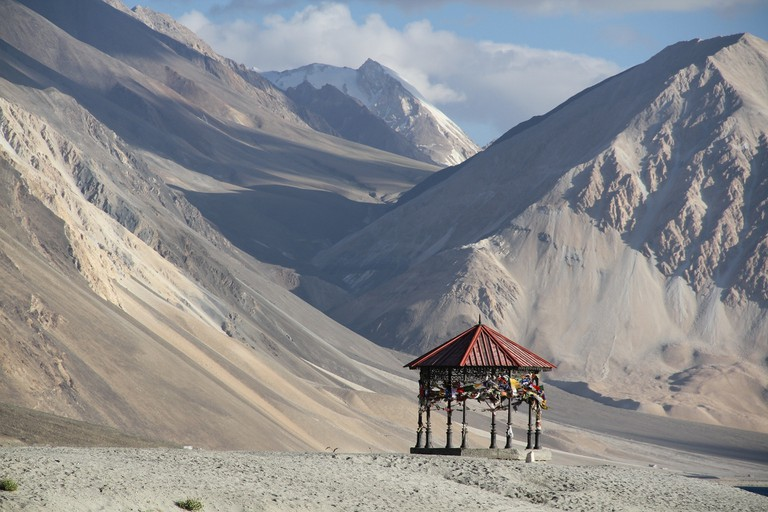Silk Road Passed Through Ladakh