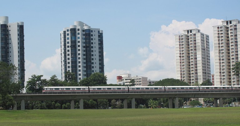 Singapore is well connected by the MRT line that continues to expand.
