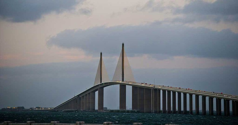 Sunshine Skyway, Tampa Bay