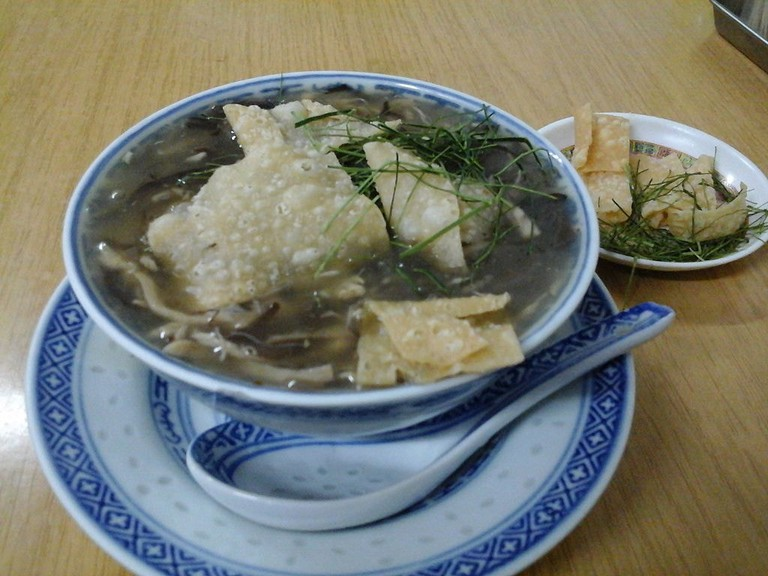 A bowl of snake soup