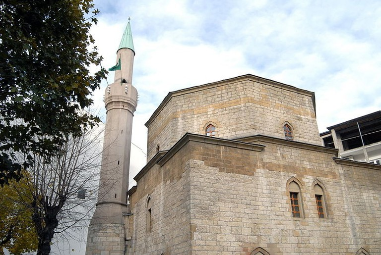 Dorćol is home to Belgrade's only mosque