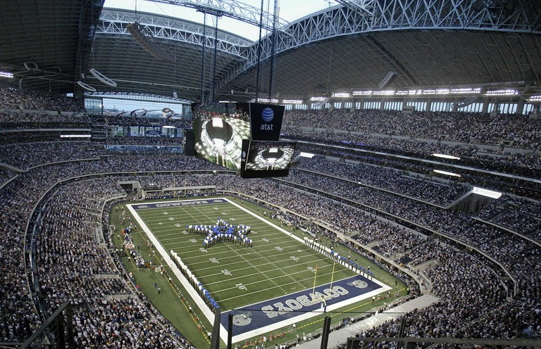 Texans love their sports teams like the Dallas Cowboys