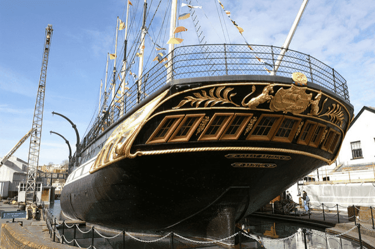 The SS Great Britain is thought to be haunted by many ghosts