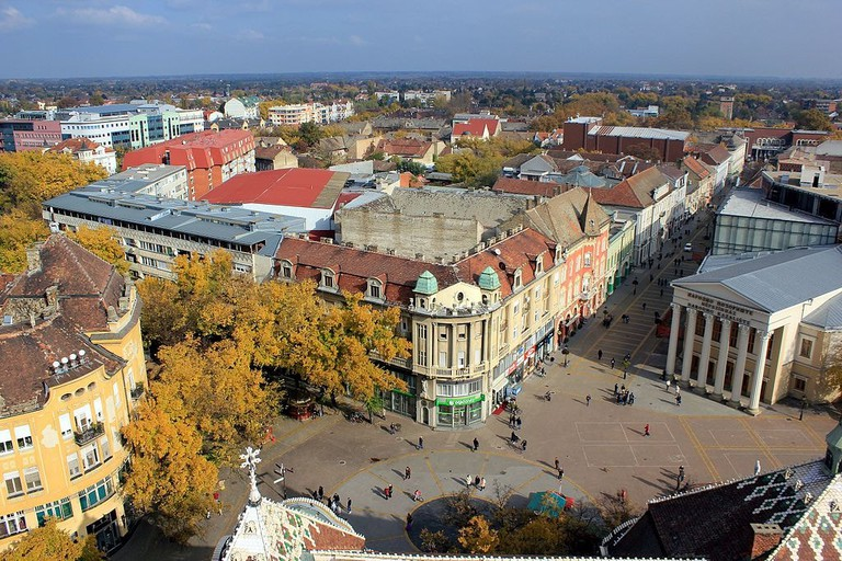Many of Subotica's sights are situated int he town centre