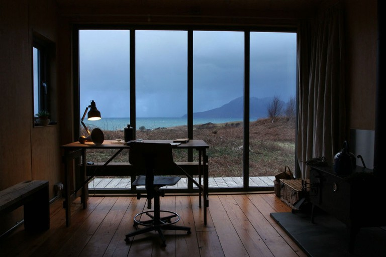 Sweeney's Bothy Interior, Isle Of Eigg, Scotland