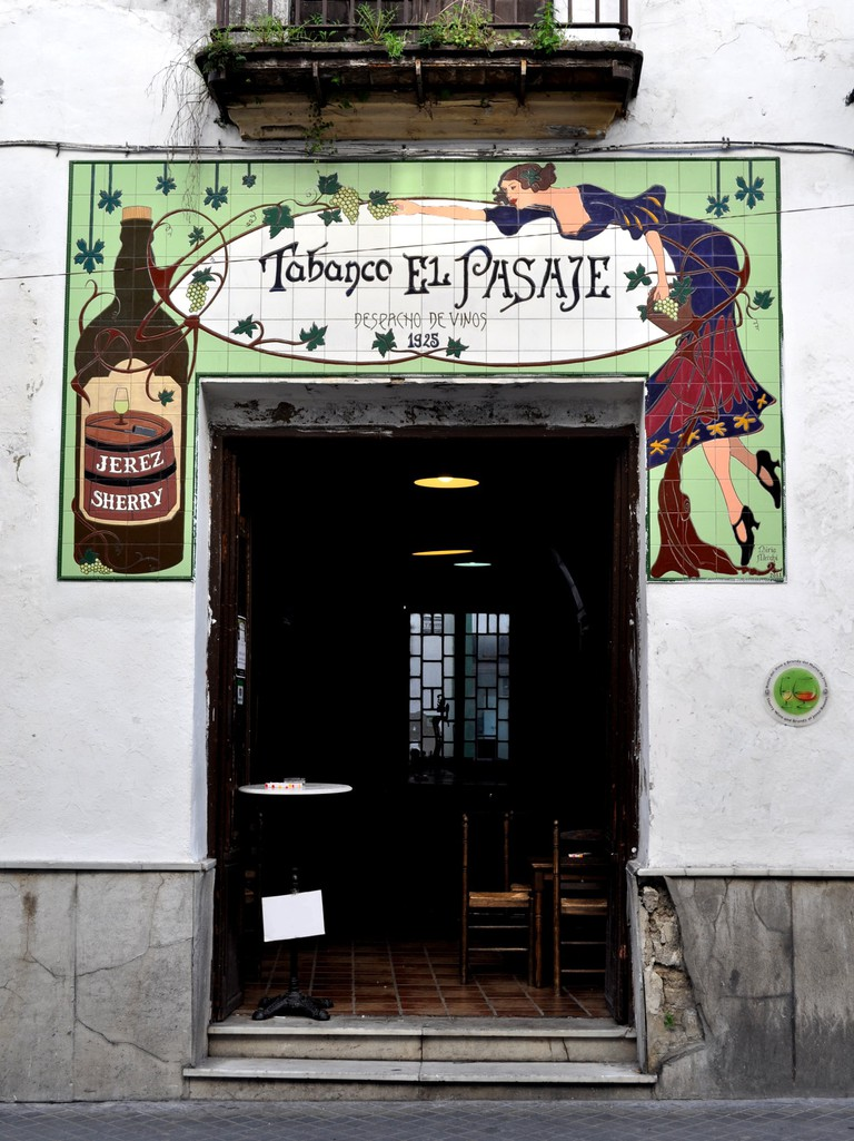 Tabanco El Pasaje is one of Jerez's best local sherry bars