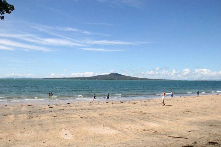 View of Mount Rangitoto