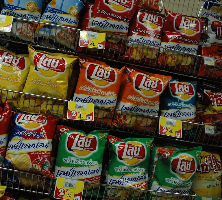 Various flavours of LAY'S® crisps in Thailand