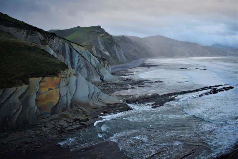 The Cliffs of Zumaia (Custom)