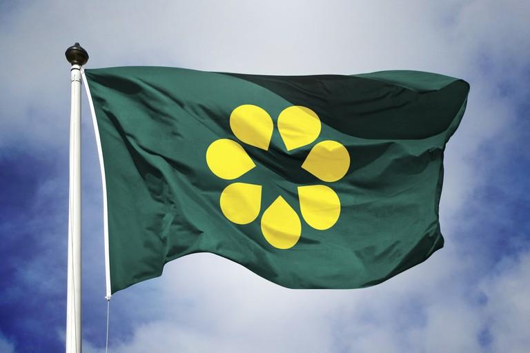 The Golden Wattle Flag © Golden Wattle Flag